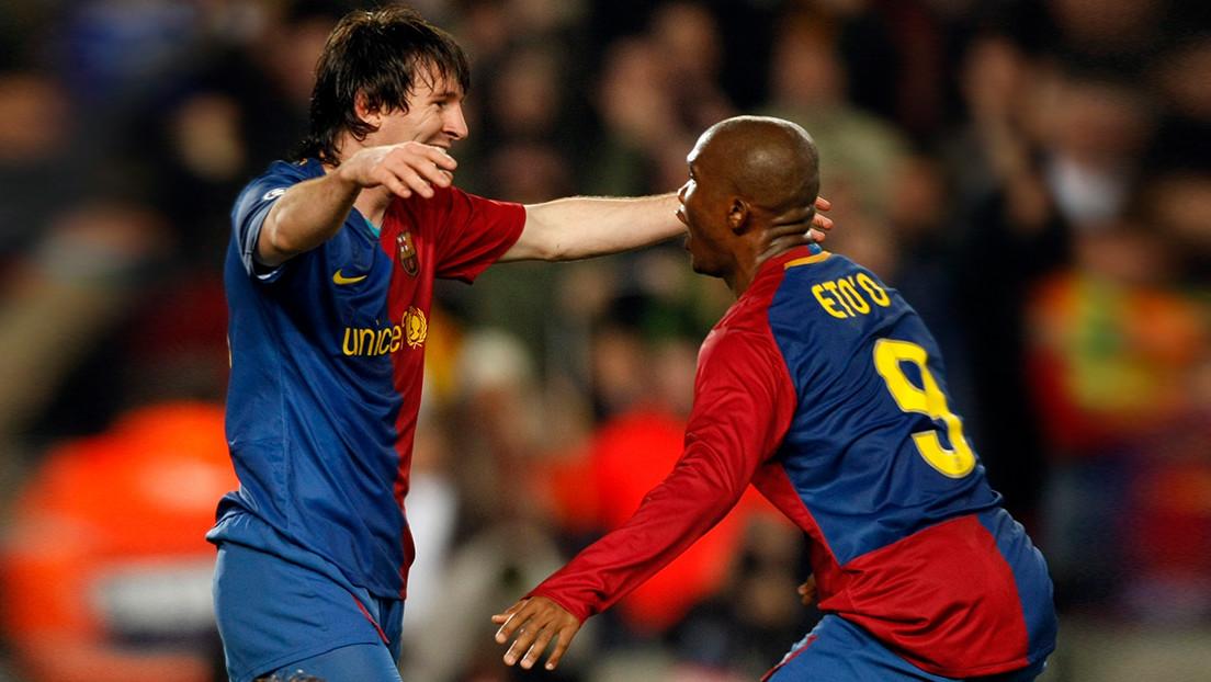 """""""Yo no jugué con Messi, él jugó conmigo"""": Letal exdelantero recuerda su paso por el F.C. Barcelona y se pone por delante del astro argentino"""