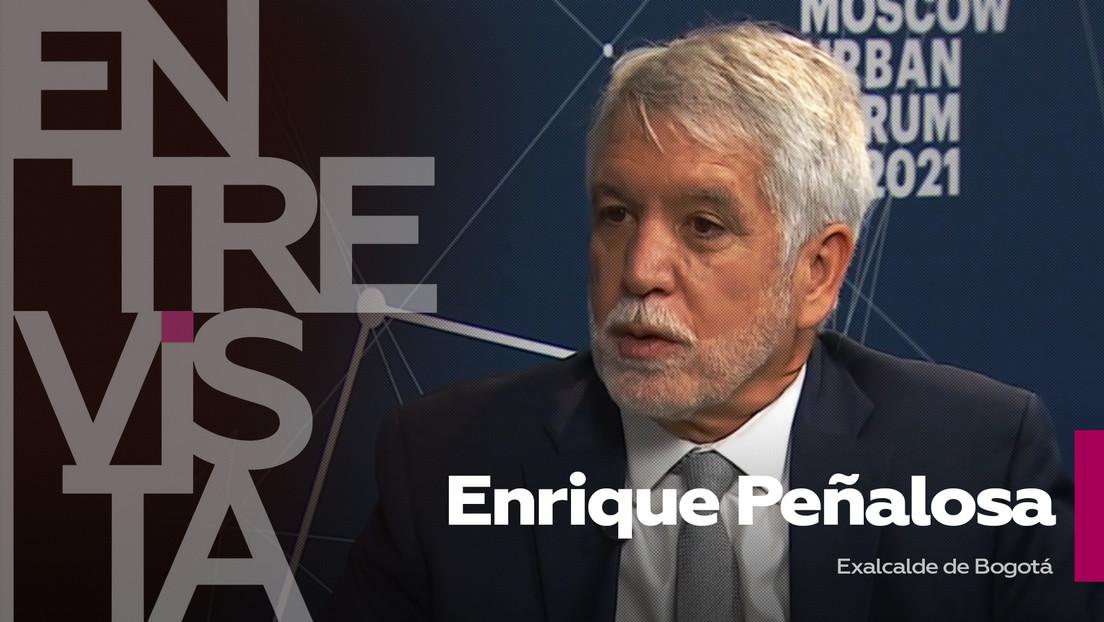 """Enrique Peñalosa, exalcalde de Bogotá, sobre la actuación de policías durante las protestas: """"El Estado ha sido muy cauto"""""""