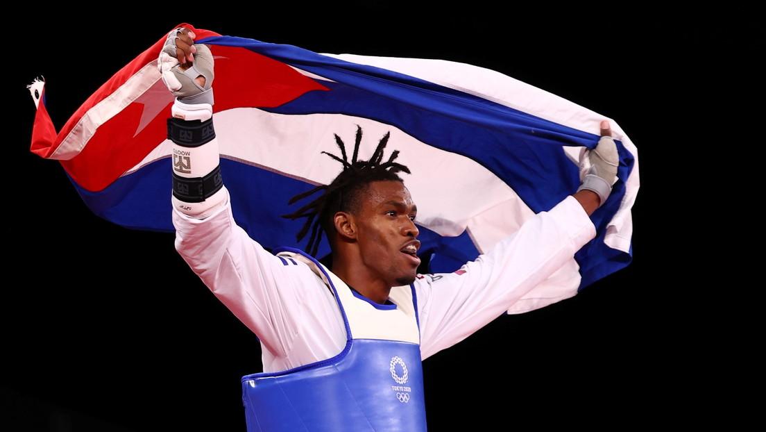 El cubano Rafael Alba Castillo logra un bronce en taekwondo, la primera medalla en los JJ.OO. de Tokio para el país