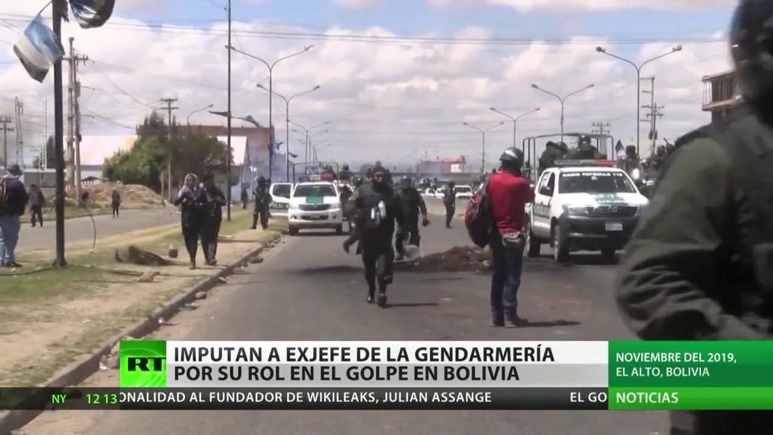 Imputan al exjefe de la Gendarmería argentina por su papel en el golpe de Estado en Bolivia