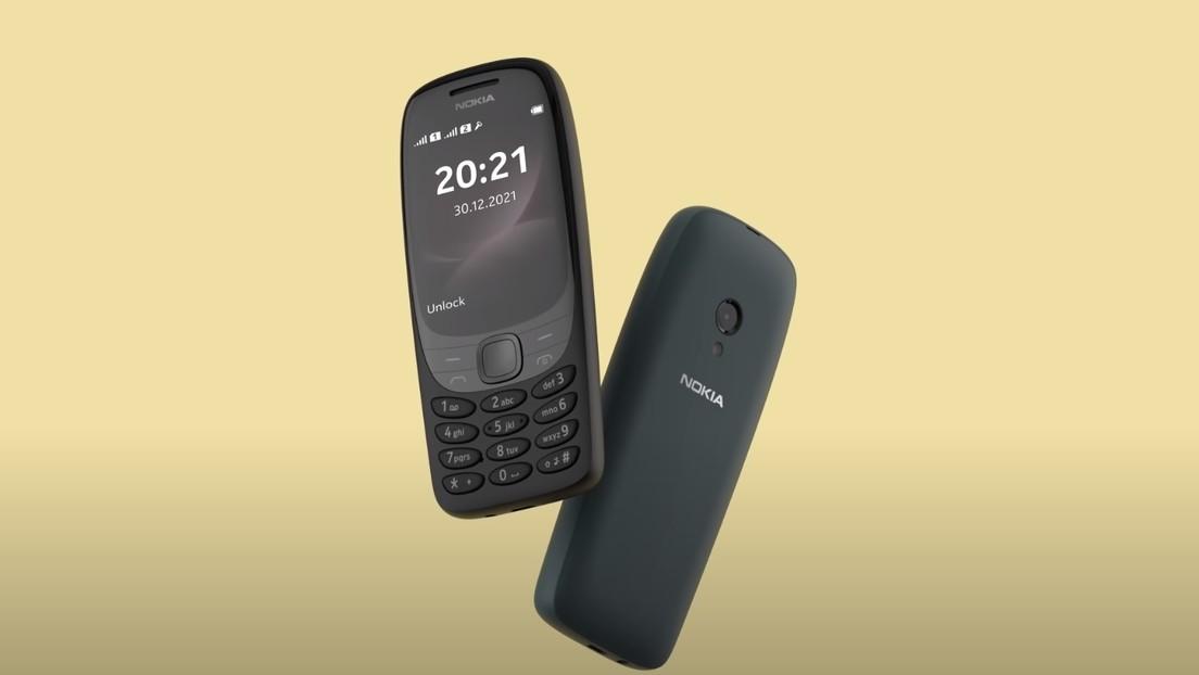 Nokia resucita su icónico modelo 6310 con pantalla ampliada, curvada y multicolor