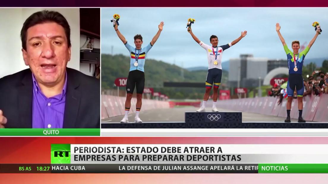 Periodista ecuatoriano considera que el Estado debe lograr que las empresas ayuden a preparar a los deportistas