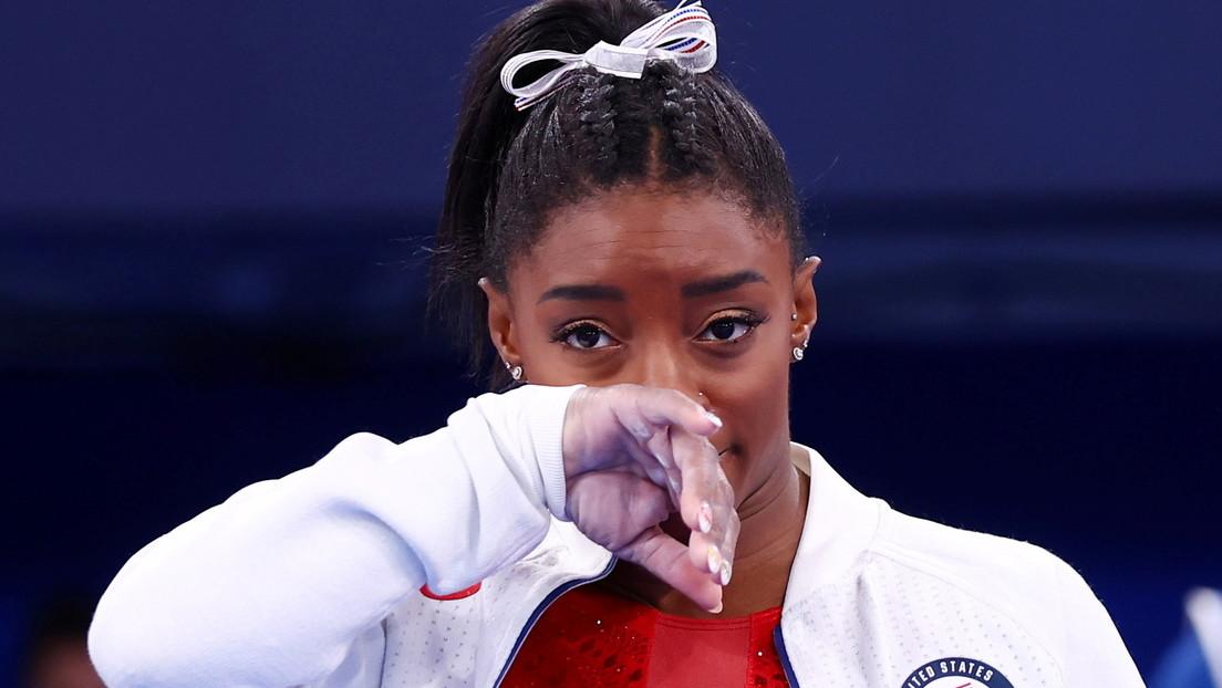 La gimnasta de EE.UU. Simone Biles se retira de la competencia individual de los JJ.OO. de Tokio
