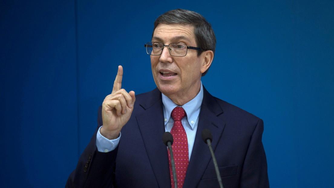 """""""Derrotada la maniobra anticubana"""": Canciller de Cuba celebra la suspensión de la sesión de la OEA por decisión de la mayoría de sus miembros"""