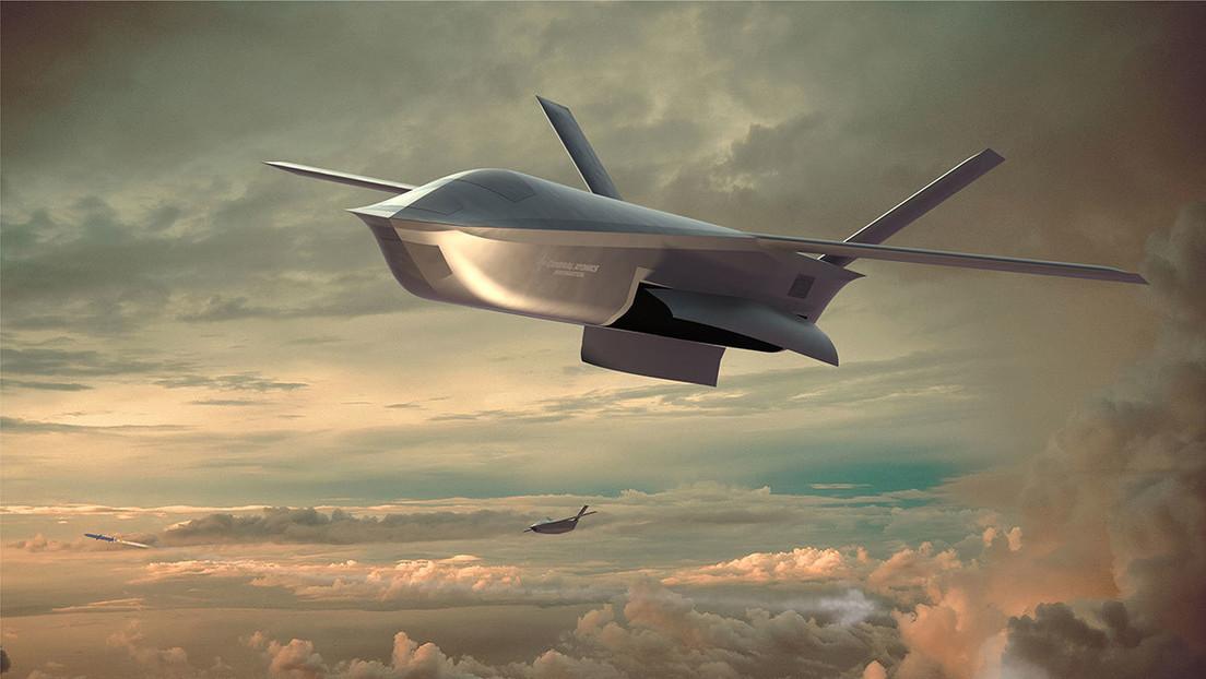 Presentan en EE.UU. una primera imagen del nuevo dron de combate aire-aire LongShot