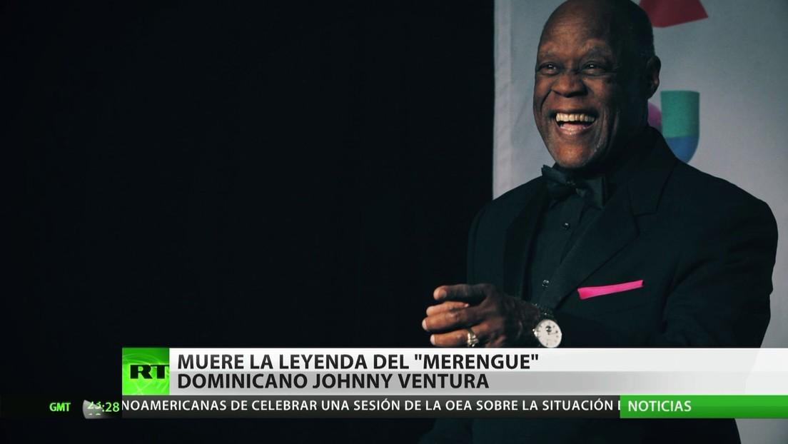 Muere Johnny Ventura, leyenda del merengue dominicano
