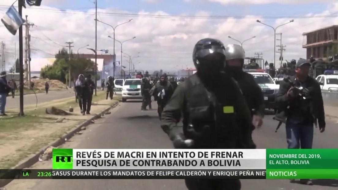 Revés de Macri en su intento de frenar la pesquisa de contrabando a Bolivia