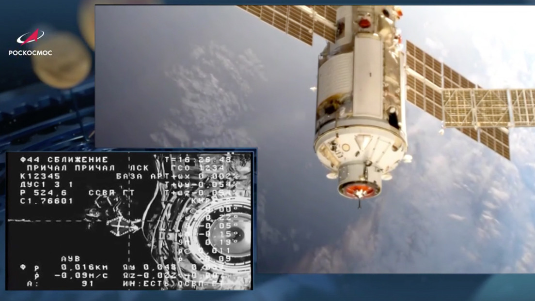 Un módulo espacial ruso se acopla a la EEI por primera vez en 11 años