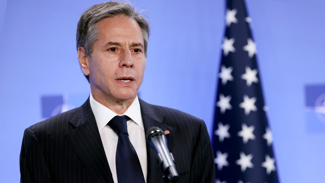 """Antony Blinken califica de """"cosa positiva"""" la implicación de China en el proceso de paz en Afganistán"""