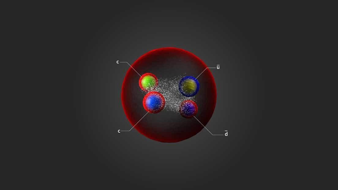 Científicos descubren una nueva partícula exótica en el Gran Colisionador de Hadrones