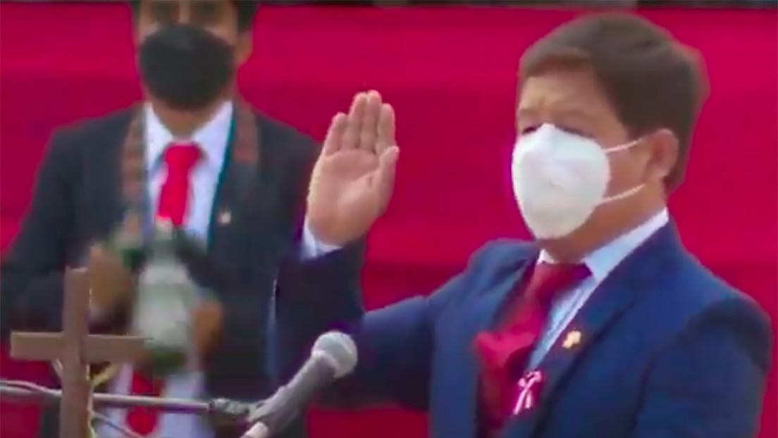 Pedro Castillo nombra a Guido Bellido como nuevo presidente del Consejo de Ministros de Perú