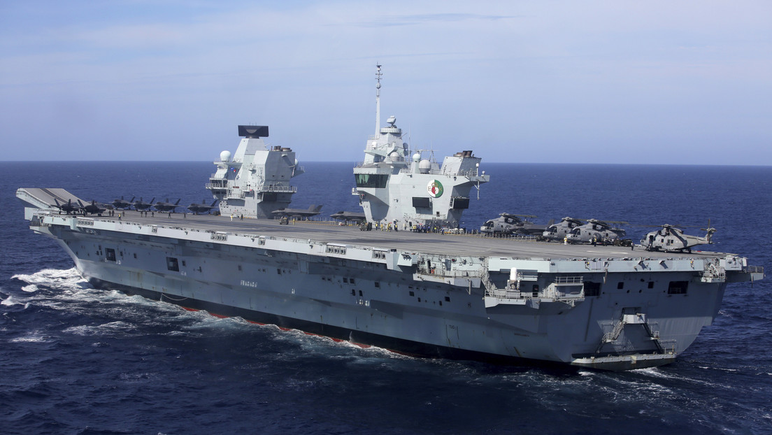 Pekín celebra ejercicios militares en el mar de la China Meridional, en medio de la llegada de un portaviones británico a la región
