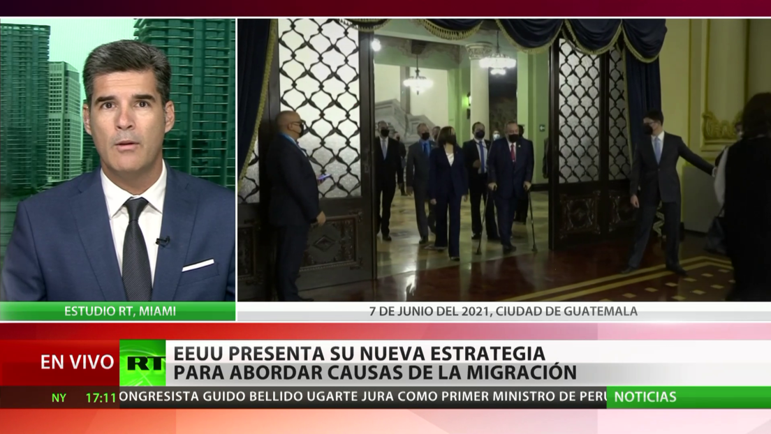 México saluda el plan de EE.UU. para atender las causas de la migración
