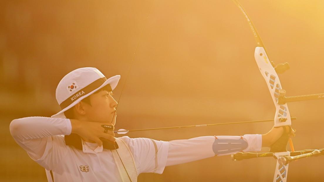 """Ridiculizan como """"feminista"""" a la medallista olímpica An San por tener el pelo corto y miles de mujeres lanzan una campaña viral en su apoyo"""
