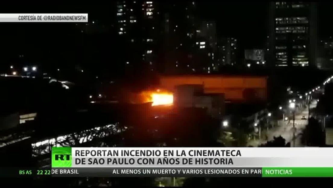 Un incendio destruye en Sao Paulo años de historia cinematográfica