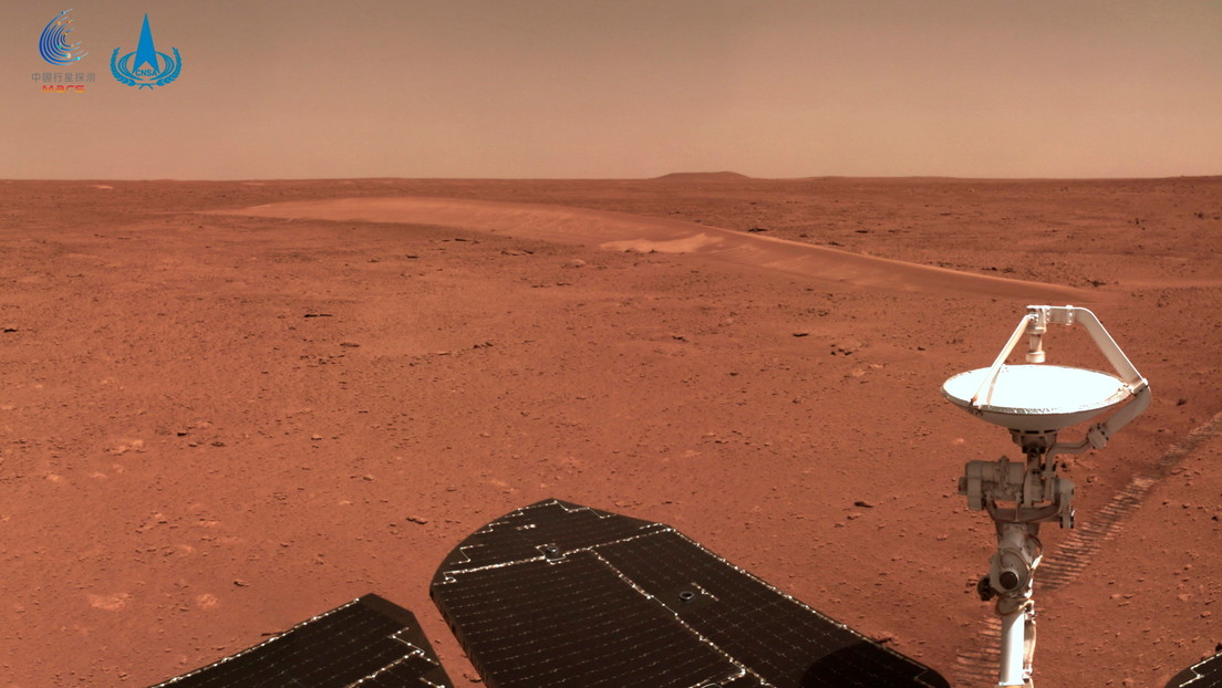 Chinese rover Shurong faces ground problems on Mars