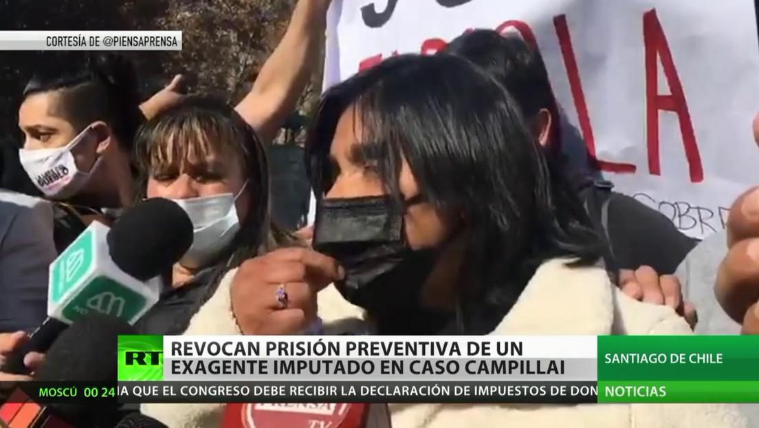 Revocan prisión preventiva de un excarabinero imputado en el caso Campillai en Chile