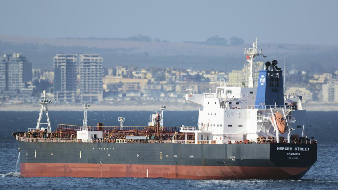 """Israel culpa a Irán del ataque contra el petrolero Mercer Street cerca de Omán y le amenaza con """"una dura respuesta"""""""