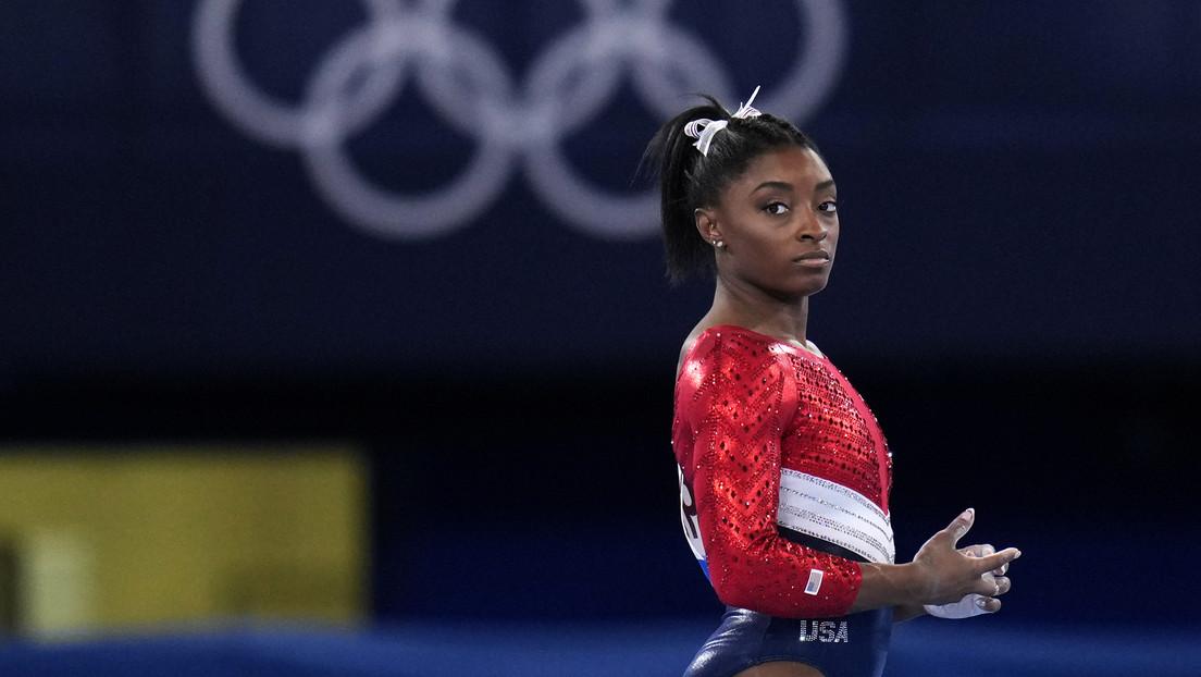 La gimnasta estadounidense Simone Biles será baja para las dos finales que se disputarán el domingo en los JJ.OO. de Tokio