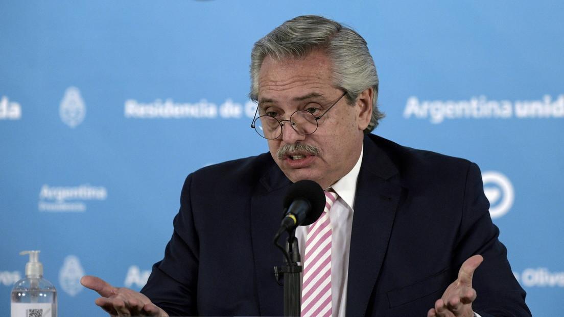 """Alberto Fernández dice que la OEA se convirtió en un """"escuadrón"""" contra gobiernos populares de América Latina y """"tal como está, no sirve"""""""