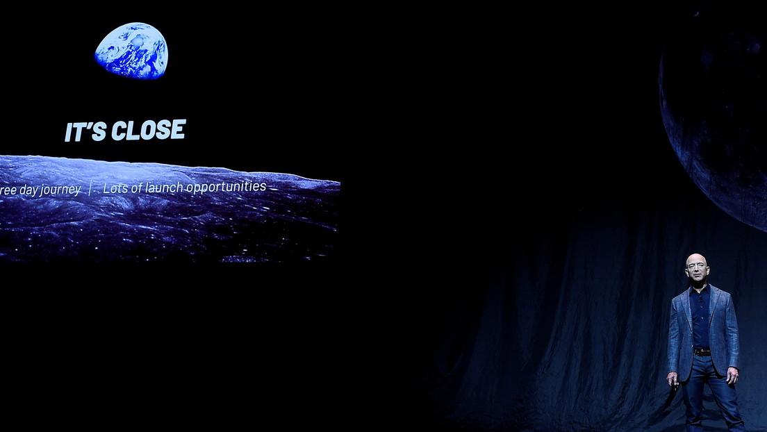 EE.UU. rechaza la protesta de Jeff Bezos por la adjudicación del contrato de un programa lunar a la compañía de Elon Musk