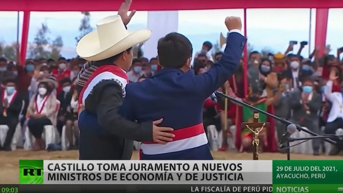 Pedro Castillo toma juramento a nuevos ministros y completa formación de su Gabinete