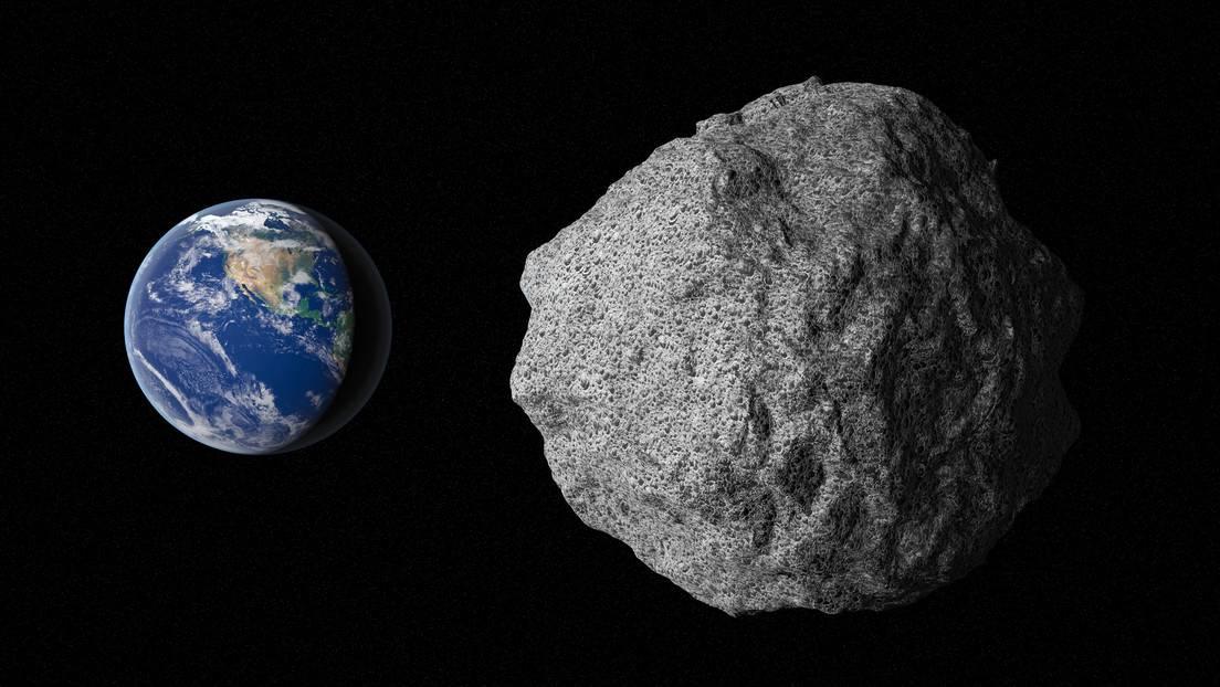 Ilustración 3D del asteroide Bennu
