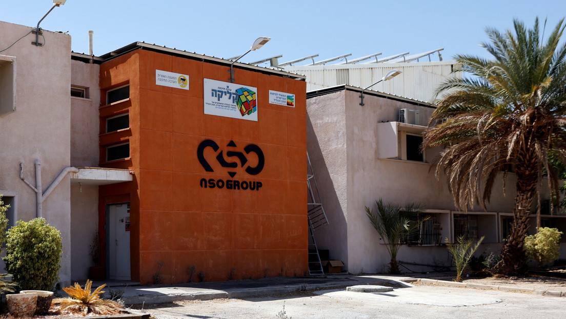 Sucursal de la empresa de vigilancia israelí NSO Group, Arava (Israel), el 22 de julio de 2021.