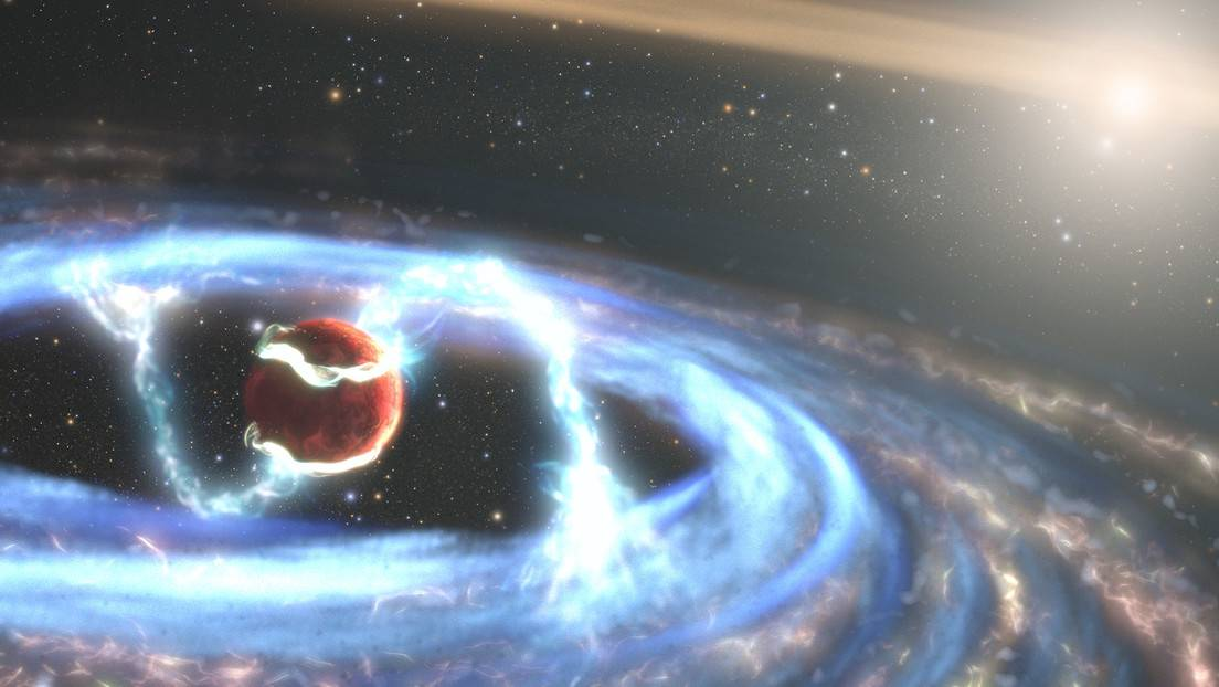Formación de un exoplaneta en el sistema PDS 70