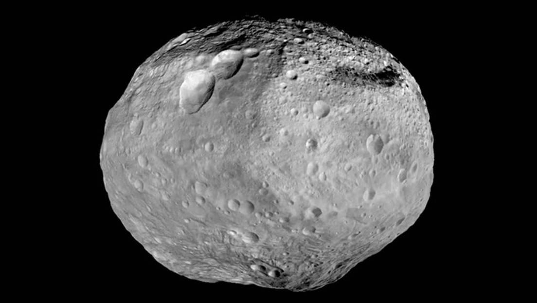 El asteroide Vesta.