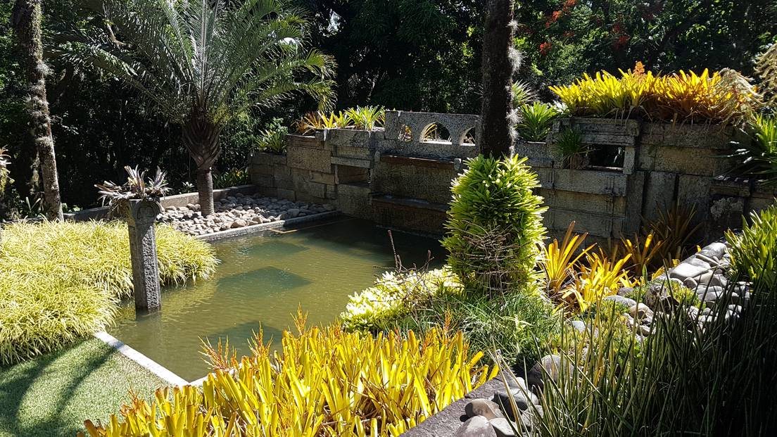 El jardín paisajístico Roberto Burle Marx.