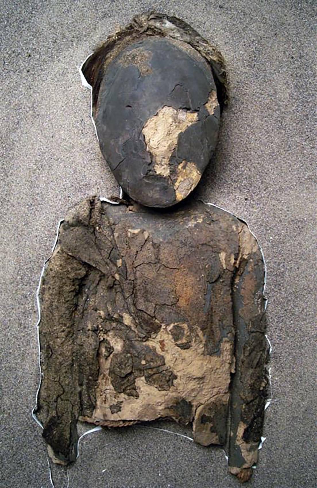 Una momia de la cultura chinchorro.
