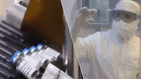 México produce el primer lote de prueba de la vacuna Sputnik V contra el covid-19