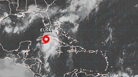 La tormenta tropical Elsa toca tierra en el centro-oeste de Cuba