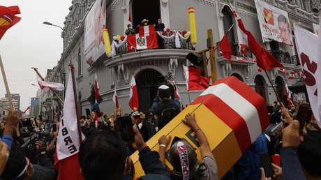 ¿Un 'golpe fujimontesinista'? Convocan a paro nacional en Perú para pedir acelerar la proclamación de Pedro Castillo