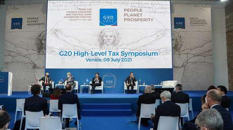 Los ministros de Hacienda del G20 dan luz verde al impuesto global del 15 % para las multinacionales