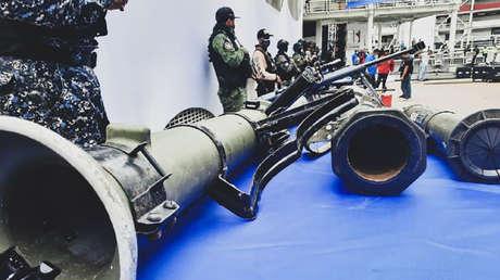 Venezuela denuncia que la mayoría de las armas incautadas a bandas criminales en Caracas provienen de EE.UU. y Colombia