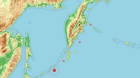 Un temblor de magnitud 6,5 sacude las islas Kuriles