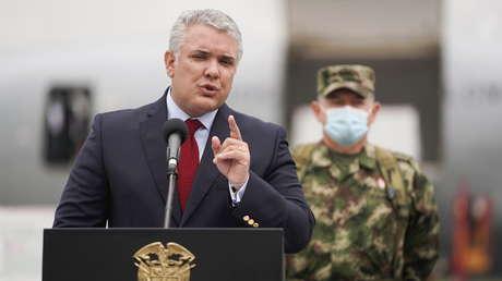 """Duque afirma que """"todo el grupo de colombianos"""" participó en el magnicidio del presidente Jovenel Moïse"""