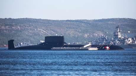 Aviones y buques de la OTAN vigilaron pruebas de armas de submarinos en aguas profundas realizadas por la Armada rusa