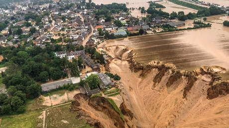 Alemania declara el estado de catástrofe militar por las devastadoras inundaciones que ya dejaron más de 100 muertos y moviliza al Ejército