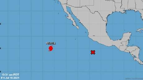 El huracán Felicia en el Pacífico oriental alcanza la categoría 4