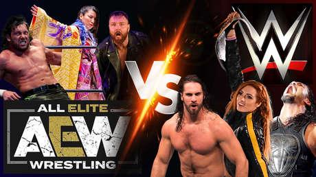 ¿Revolución en la lucha libre? Por primera vez en décadas, la WWE es destronada y troleada por otra empresa: se llama AEW y así lo ha logrado