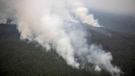 VIDEO: El cielo se tiñe de naranja en Siberia por masivos incendios forestales