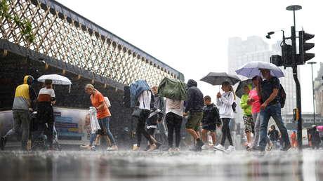 Lluvias torrenciales provocan inundaciones en Londres (FOTOS, VIDEOS)