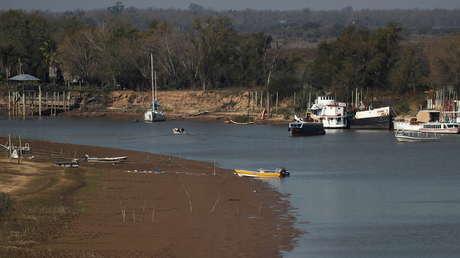El Gobierno de Argentina declara la emergencia hídrica por el histórico descenso del río Paraná