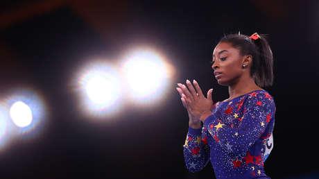 La gimnasta estadounidense Simone Biles explica por qué se retiró de la final por equipos en los JJ.OO.