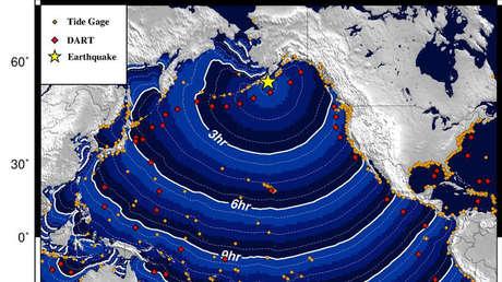 VIDEOS: Un fuerte terremoto de magnitud 8,2 provoca evacuaciones en el sur de Alaska por la posible llegada de un tsunami