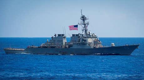 """China califica a EE.UU. como el """"mayor destructor de la paz"""" tras el séptimo paso de un buque estadounidense por el estrecho de Taiwán este año"""