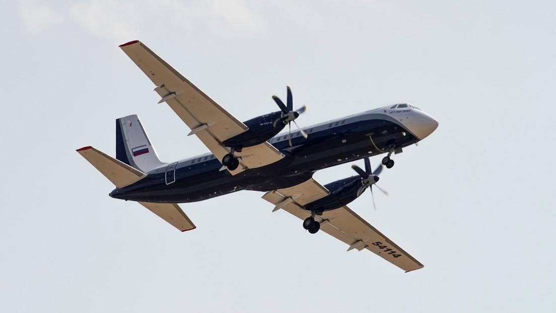 Rusia está desarrollando una versión de cuatro motores del avión de pasajeros Ilyushin Il-114